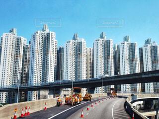 超高層ビル群の写真・画像素材[1205316]
