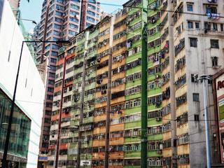都市の高層住宅の写真・画像素材[1205318]