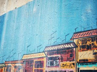 建物の側面にあるペイントの写真・画像素材[1205371]