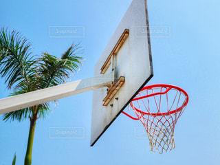 バスケットゴールの写真・画像素材[1293107]