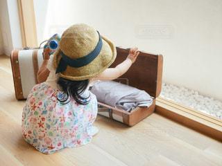 夏のお嬢さん♫の写真・画像素材[1321466]