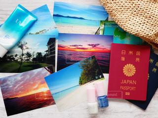 旅の写真と小物の写真・画像素材[1422376]