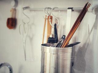 キッチン収納の写真・画像素材[1447844]