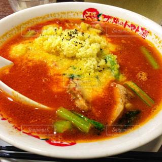 スープのボウルの写真・画像素材[1596436]