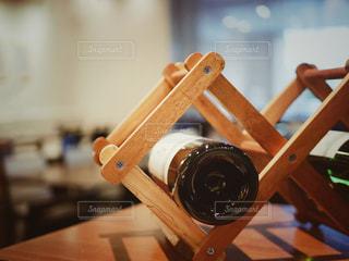 木製ワインラックの写真・画像素材[1641636]