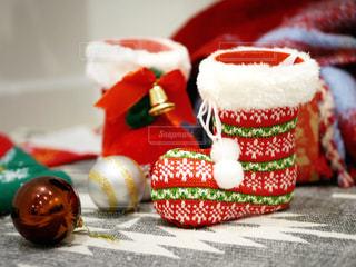 クリスマスのくつ下の写真・画像素材[1653647]