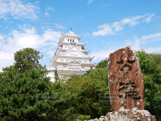 まっしろな姫路城の写真・画像素材[1669176]