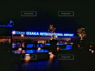 伊丹空港の展望デッキの写真・画像素材[1743475]