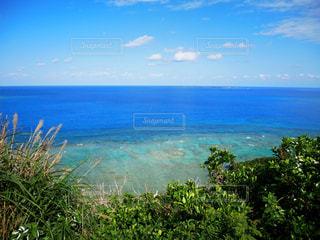 知念岬からの景色の写真・画像素材[1993742]