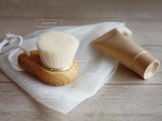 ふわふわ洗顔ブラシの写真・画像素材[2057211]