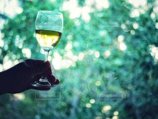 ワインを持っている人の写真・画像素材[2357435]