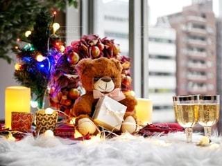 クリスマスパーティの写真・画像素材[2778529]