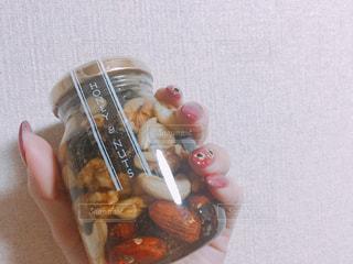 ナッツの蜂蜜漬け🍯の写真・画像素材[1147416]