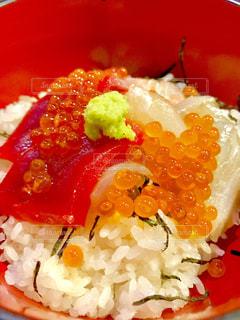 海鮮丼🐟の写真・画像素材[655501]