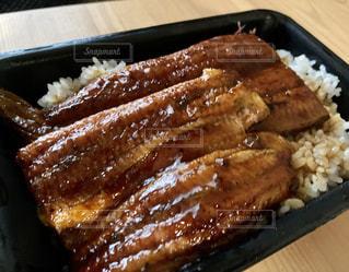 うな丼の写真・画像素材[3458741]