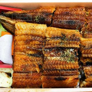 鰻弁当の写真・画像素材[3383677]