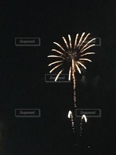 空に花火の写真・画像素材[749598]