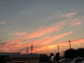 夕日の写真・画像素材[654364]