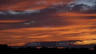 背景の夕日の写真・画像素材[1610254]