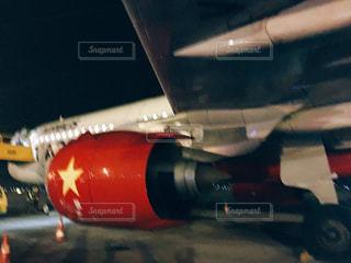 ベトナムの飛行機(Vietjet)の写真・画像素材[1885858]