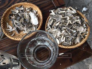 食用ひまわりの種の写真・画像素材[1886081]