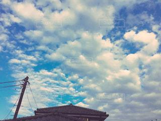 夏の空の写真・画像素材[768457]