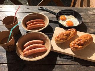 朝食の写真・画像素材[655441]