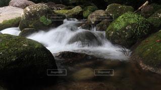 水流の写真・画像素材[1385061]