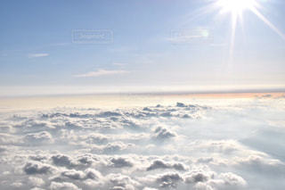 日本一の雲海の写真・画像素材[1602082]