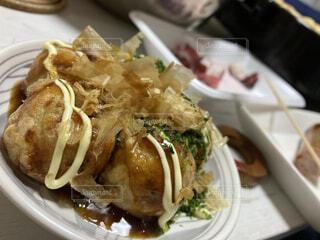 食べ物の皿の写真・画像素材[4212219]