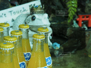 クローズ ボトルのアップの写真・画像素材[1154551]