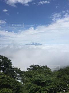 空には雲のグループの写真・画像素材[739804]