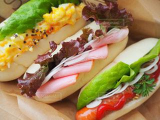 白パンのサンドイッチ - No.986238