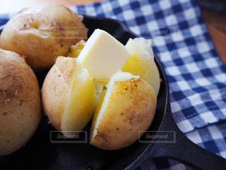じゃがバターの写真・画像素材[1176138]