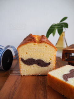 髭のパウンドケーキの写真・画像素材[1232460]