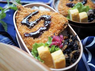 アジフライお弁当の写真・画像素材[1269783]