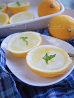 レモンゼリーの写真・画像素材[1440229]