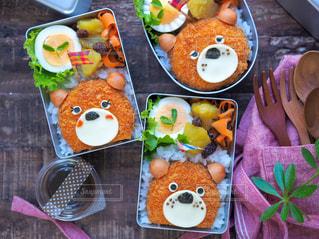 子供のお弁当の写真・画像素材[1599715]