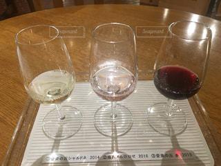 ワインの試飲の写真・画像素材[745642]