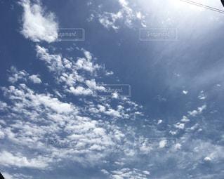 とけこんじゃいそうな空の写真・画像素材[663185]