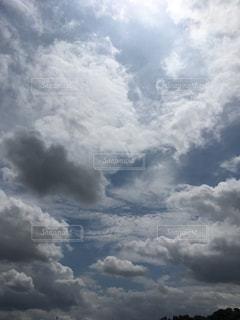 天海のブルーグレーの写真・画像素材[757082]