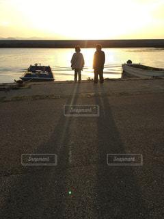 夕日の写真・画像素材[662327]