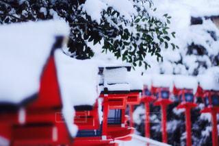 雪積もる貴船神社 - No.981651