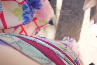 青と白のケーキの写真・画像素材[884583]
