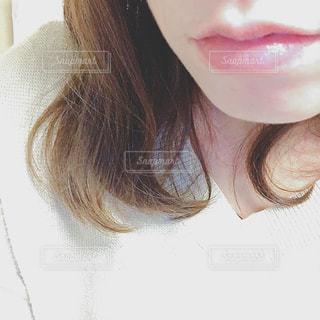 selfie を取る女性の写真・画像素材[903729]