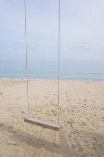 近くの砂浜のビーチの写真・画像素材[1171749]