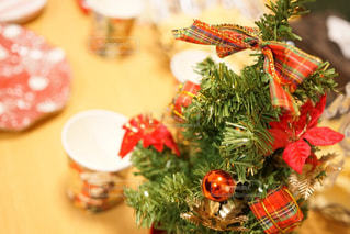 クリスマスツリーのクローズアップの写真・画像素材[2692130]
