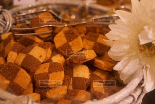 食べ物のクローズアップの写真・画像素材[2692131]