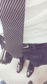 スーツとネクタイを着た人の写真・画像素材[2797065]