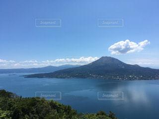 桜島と鹿児島湾の写真・画像素材[710512]